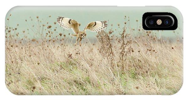 Hunting Short Eared Owl Phone Case by Prashant Meswani