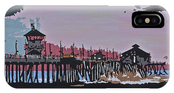 Huntington Beach Pier 1 IPhone Case