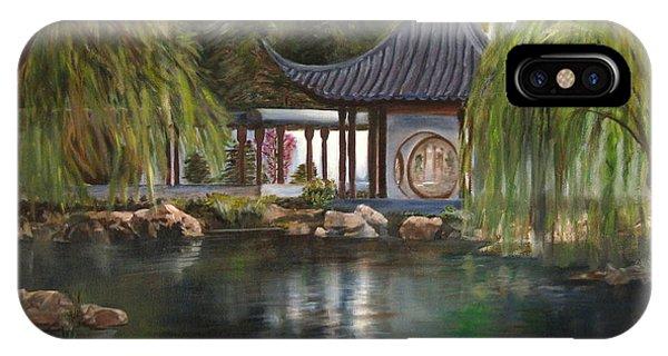 Huntington Chinese Gardens IPhone Case