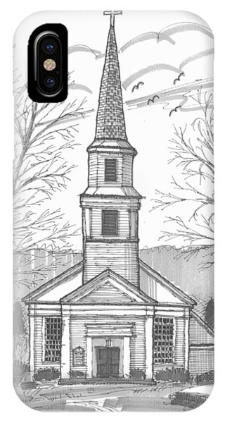 Hurley Reformed Church IPhone Case