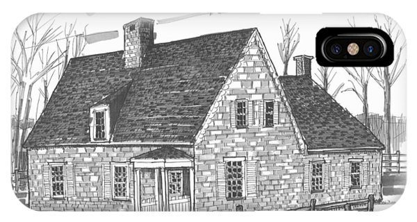 Hurley Stone House IPhone Case