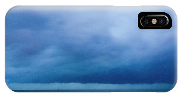 Katrina iPhone Case - Hurricane Katrina Approaching Shore by Jim Reed Photography/science Photo Library