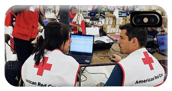Katrina iPhone Case - Hurricane Katrina Coordination Centre by Jim West