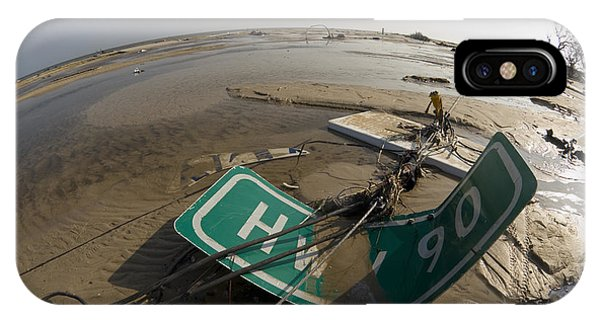 Katrina iPhone Case - Hurricane Katrina Damage by Jim Reed Photography/science Photo Library