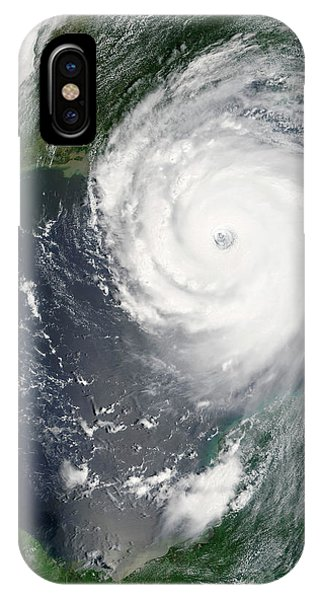 Katrina iPhone Case - Hurricane Katrina by Nasa/science Photo Library