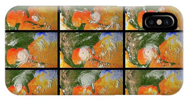 Katrina iPhone Case - Hurricane Katrina Sea Surface Temperature by Nasa/science Photo Library