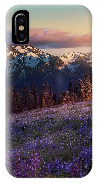 Snowy iPhone Case - Hurricane Ridge by Louise Yu