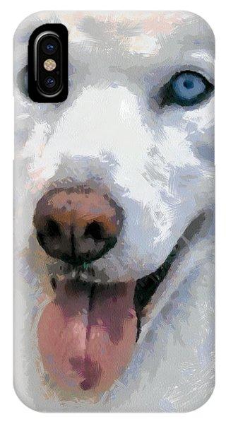 Husky Phone Case by Georgi Dimitrov