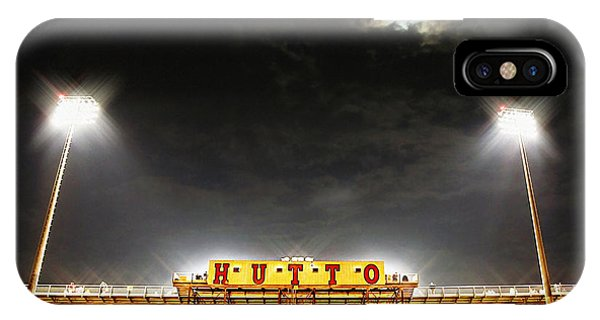 Hutto Hippo Stadium IPhone Case