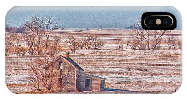 Hwy 83 North Dakota IPhone Case