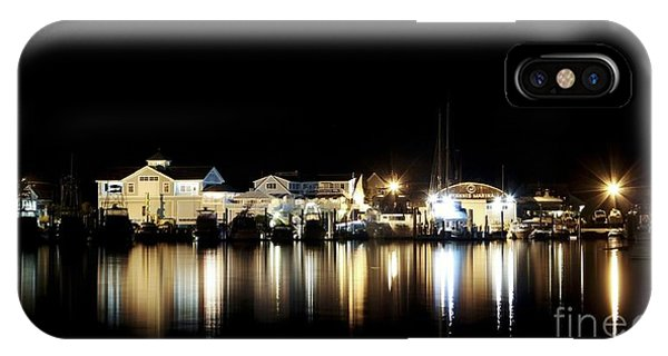 Hyannis At Night IPhone Case