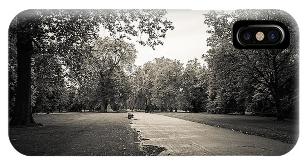 Hyde Park - For Eugene Atget IPhone Case