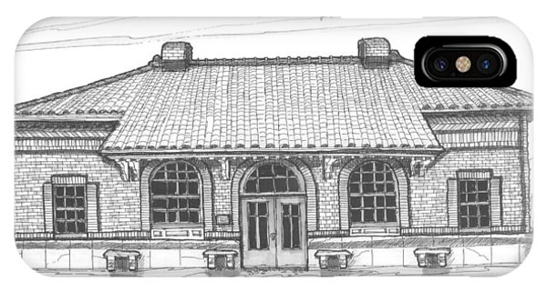 Hyde Park Historic Train Station IPhone Case
