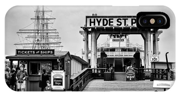 Hyde St. Pier IPhone Case