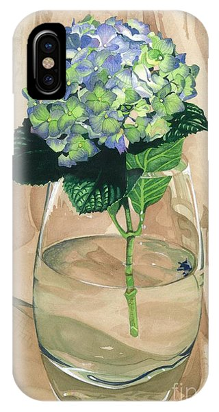 Hydrangea Blossom IPhone Case