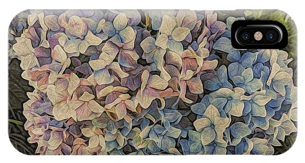 Hydrangea Blossoms IPhone Case