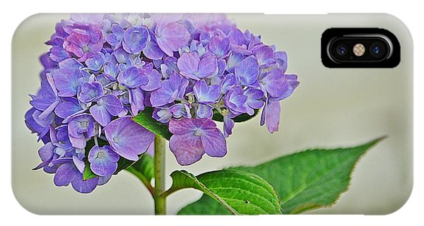Hydrangea Phone Case by Marjorie Tietjen