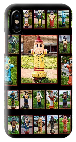 Hydrants Phone Case by Mitchell Brown