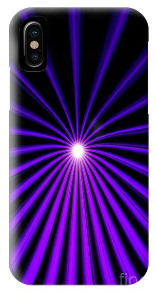 Hyperspace Violet Portrait IPhone Case