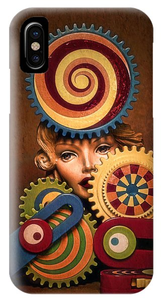 IPhone Case featuring the photograph Hypnotic Woman 1 by Jeff  Gettis
