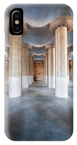 Hypostyle Room In Park Guell IPhone Case