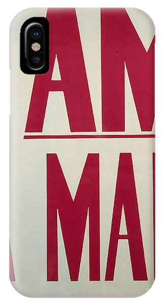 I Am A Man Phone Case by Baltzgar
