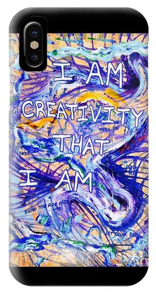 I Am Creativity IPhone Case