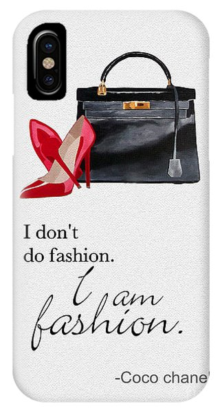 I Am Fashion IPhone Case