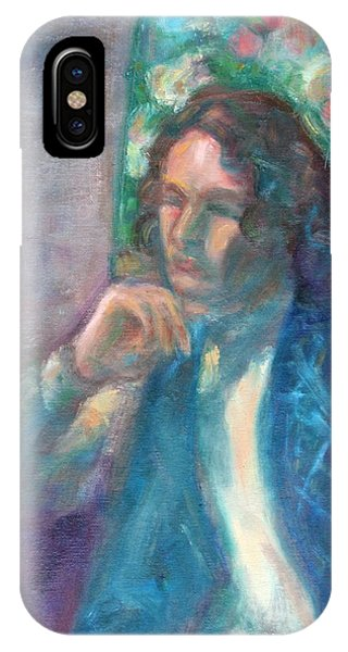 I Am Heathcliff - Original Painting  IPhone Case