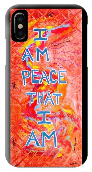 I Am Peace IPhone Case