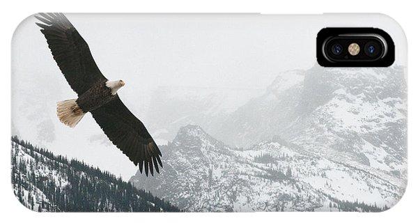 I Am The Eagle IPhone Case