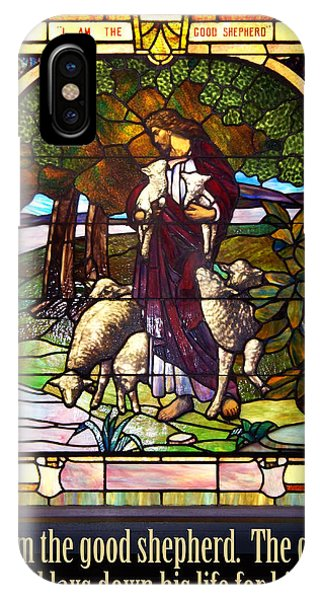 I Am The Good Shepherd IPhone Case