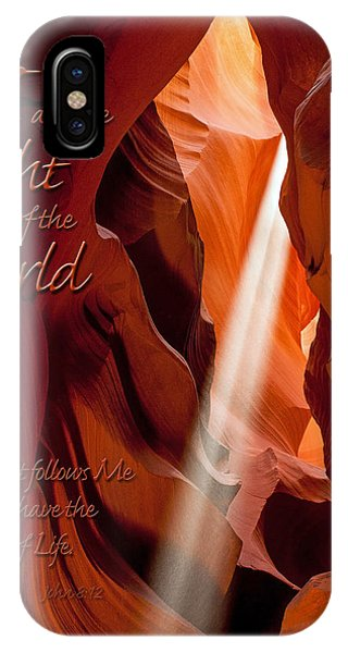 I Am The Light Of The World IPhone Case