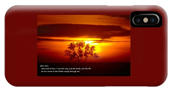 I Am The Way John 14-6 IPhone Case