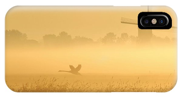 Swan iPhone X Case - _i_ by Annemieke