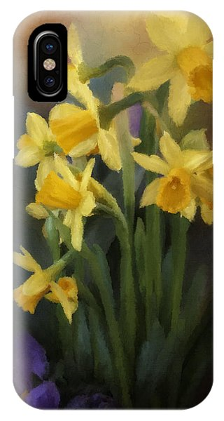 I Believe - Flower Art IPhone Case