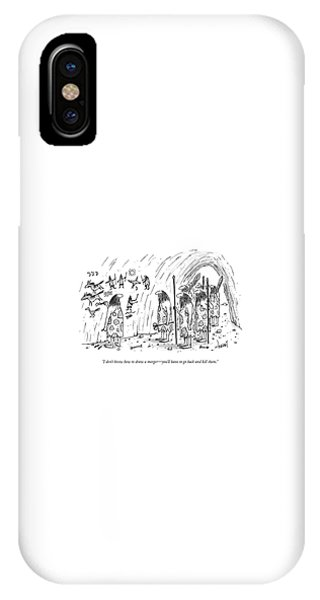 I Don't Know How To Draw A Merger - You'll IPhone Case