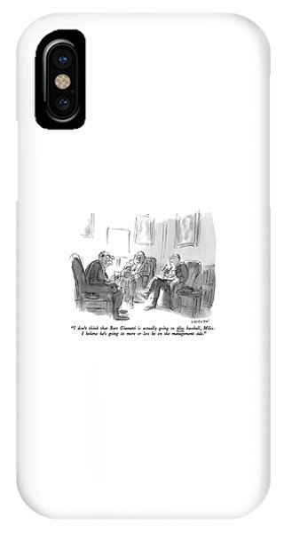 I Don't Think That Bart Giamatti Is Actually IPhone Case