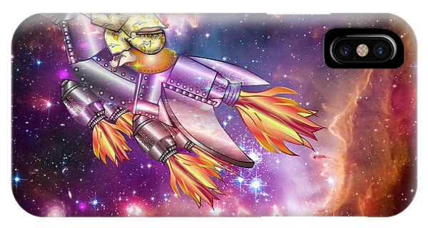 I Dream Of Rockethorse IPhone Case