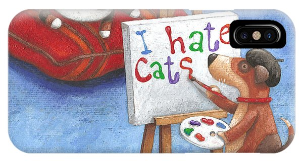 I Hate Cats IPhone Case