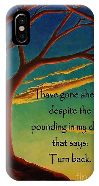 I Have Gone Ahead IPhone Case
