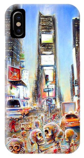 Avenue iPhone Case - I Heart Ny by Heather Calderon
