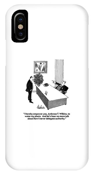 I Hereby Empower IPhone Case
