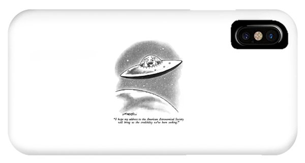I Hope My Address To The American Astronomical IPhone Case