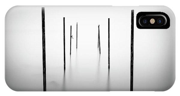 Simple Landscape iPhone Case - I I I I I \ I I by Marco Maljaars