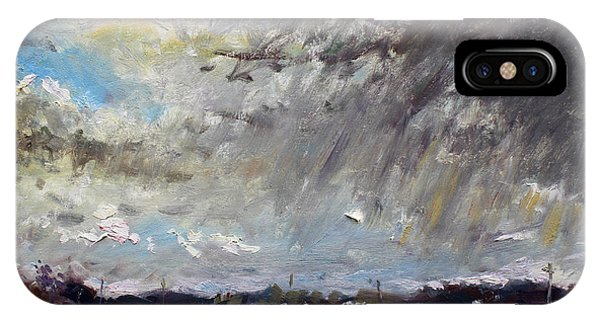 Storm iPhone Case - I Just Beat The Rain by Ylli Haruni