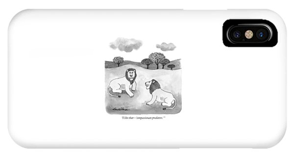 I Like That - 'compassionate Predators.' IPhone Case