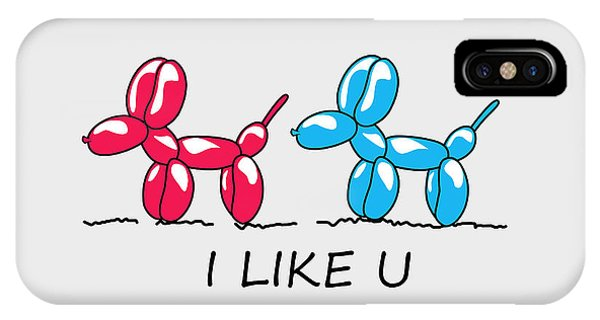 Cool iPhone Case - I Like U  by Mark Ashkenazi