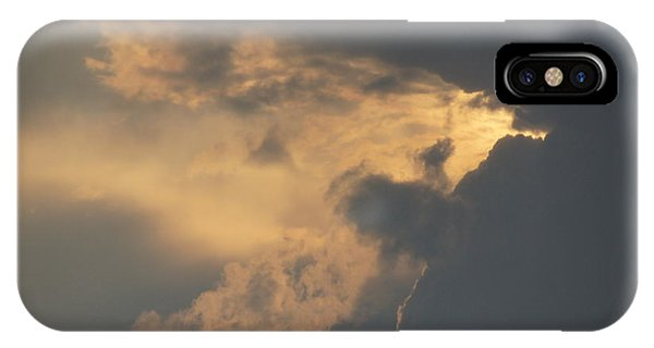 I Love A Cloudy Day IPhone Case