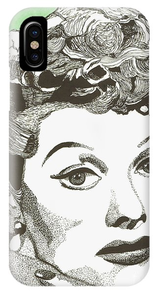 I Love Lucy IPhone Case